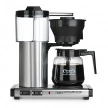 Moccamaster CD Grand 1,8 liter Auto-off - Kaffebryggare Polished Silver