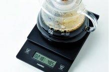 Hario våg - V60 Drip Pour Over coffee scale and timer VST-2000