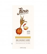 Patric Chocolate -Dark Chocolate Red Coconut Curry - 65g