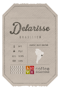 Love Coffee Roasters - Delarise Kaffebönor - 250g