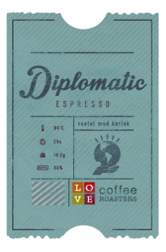 Love Coffee - Diplomatic Espresso- 250g