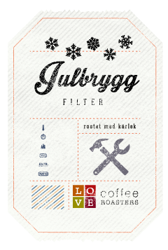 Love Coffee - Julbrygg Filter - 250g