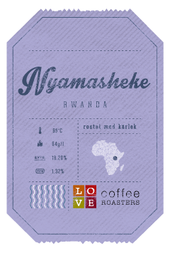 Love Coffee Roasters - Nyamasheke Kaffebönor - 250g