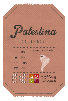 Love Coffee - Palestina - Colombia- Brygg - 250g