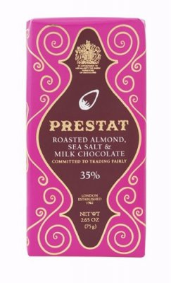 PRESTAT - Milk Chocolate Bar Sea Salt & Almond - 75g