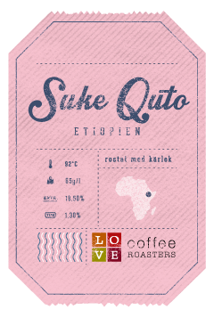 Love Coffee - Suke Quto - Ekologisk Brygg & Press - Etiopien - 250g