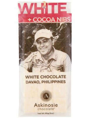 Askinosie - White Chocolate PisAskinosie - White Chocolate with Nibs - 85g - 85g